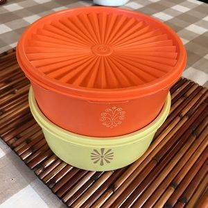 Tupperware Kitchen - Vintage stackable canisters